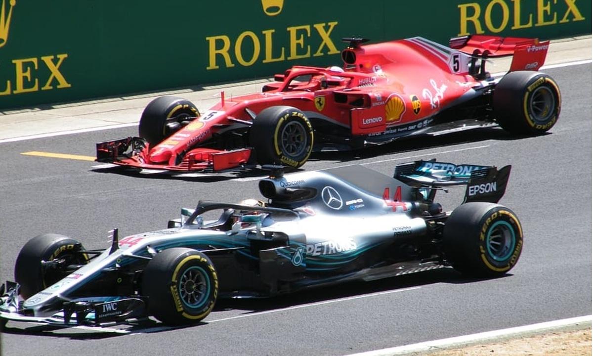 GP de Gran Bretaña SIlverstone, Ferrari y Mercedes