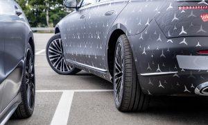 Eje trasero direccional Mercedes Clase S