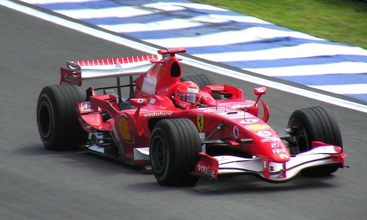 Ferrari de Michael Schumacher