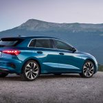 Audi A3 perfil trasero