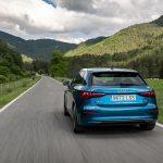 Audi A3 dinámica trasera