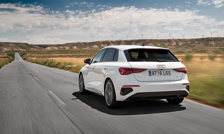 Prueba Audi A3 dinámica trasera