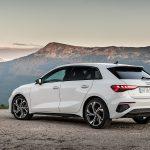 Prueba Audi A3 costado