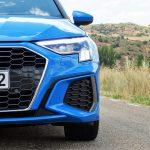 Audi A3 detalle paragolpes