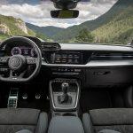 Prueba Audi A3 salpicadero