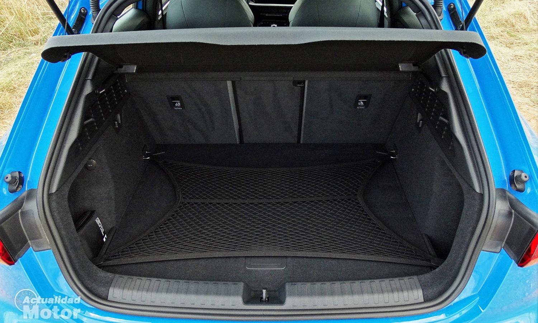 Prueba Audi A3 2020 maletero