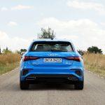 Audi A3 S line trasera
