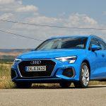 Prueba Audi A3 perfil delantero