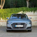 Prueba Audi A8 60 TFSIe frontal