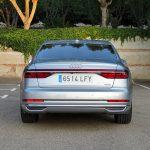 Prueba Audi A8 trasera