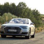Prueba Audi A8 frontal