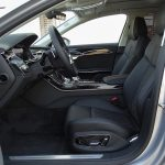 Prueba Audi A8 asientos delanteros