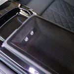 Prueba Audi A8 phone box trasera