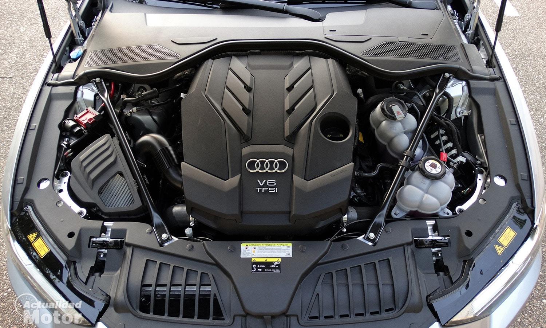 Prueba Audi A8 60 TFSIe motor PHEV 449 CV