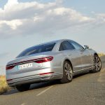 Prueba Audi A8 parte trasera