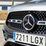 Prueba Mercedes GLA parrilla delantera