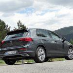 Prueba Volkswagen Golf 8 trasera