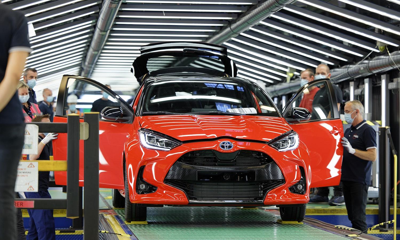 Toyota Yaris fábrica Valenciennes