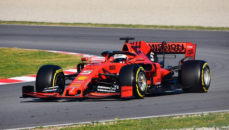 Sebastian Vettel F1 2020