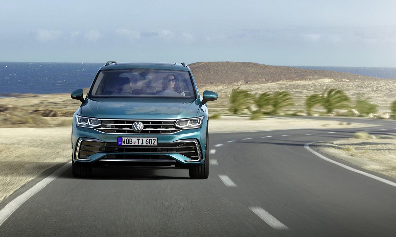 Volkswagen Tiguan frontal