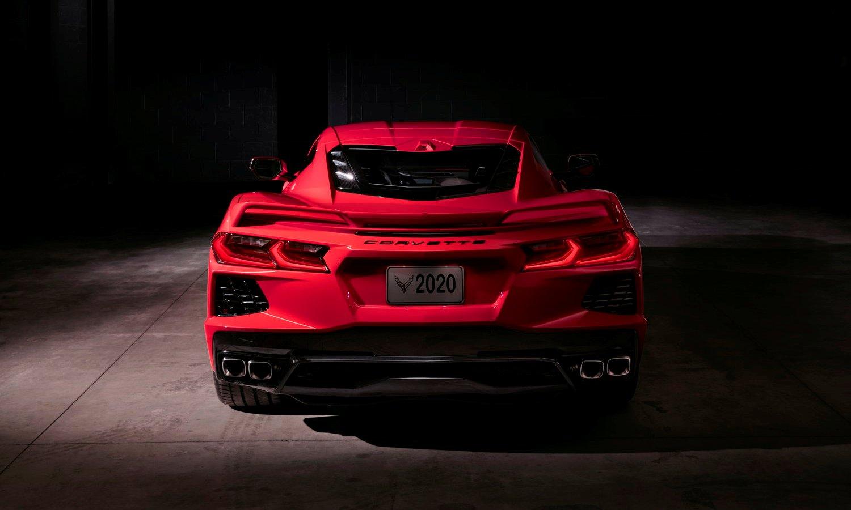 Chevrolet Corvette Stingray 2020 rear - General Motors SV
