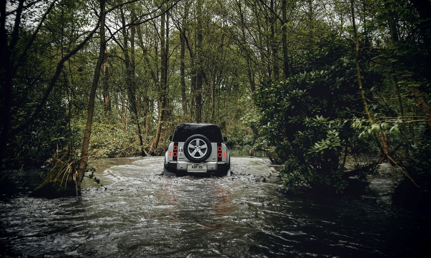 Land Rover Defender 110 MY2020 off road rear