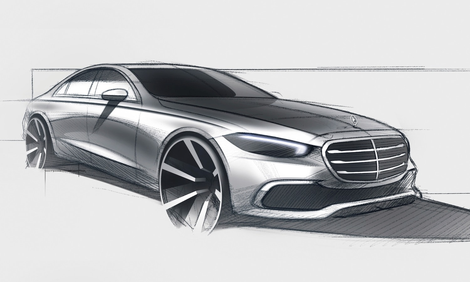 New Mercedes-Benz Clase S W223 front-side teaser