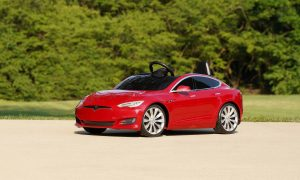 Tesla Model S and Model Y ford kids