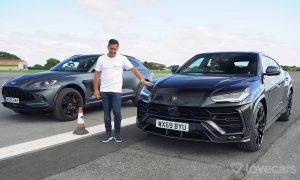 Drag race Aston Martin DBX Vs Lamborghini Urus