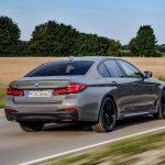BMW 545e dinámica