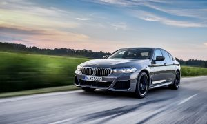 BMW 545e híbrido enchufable