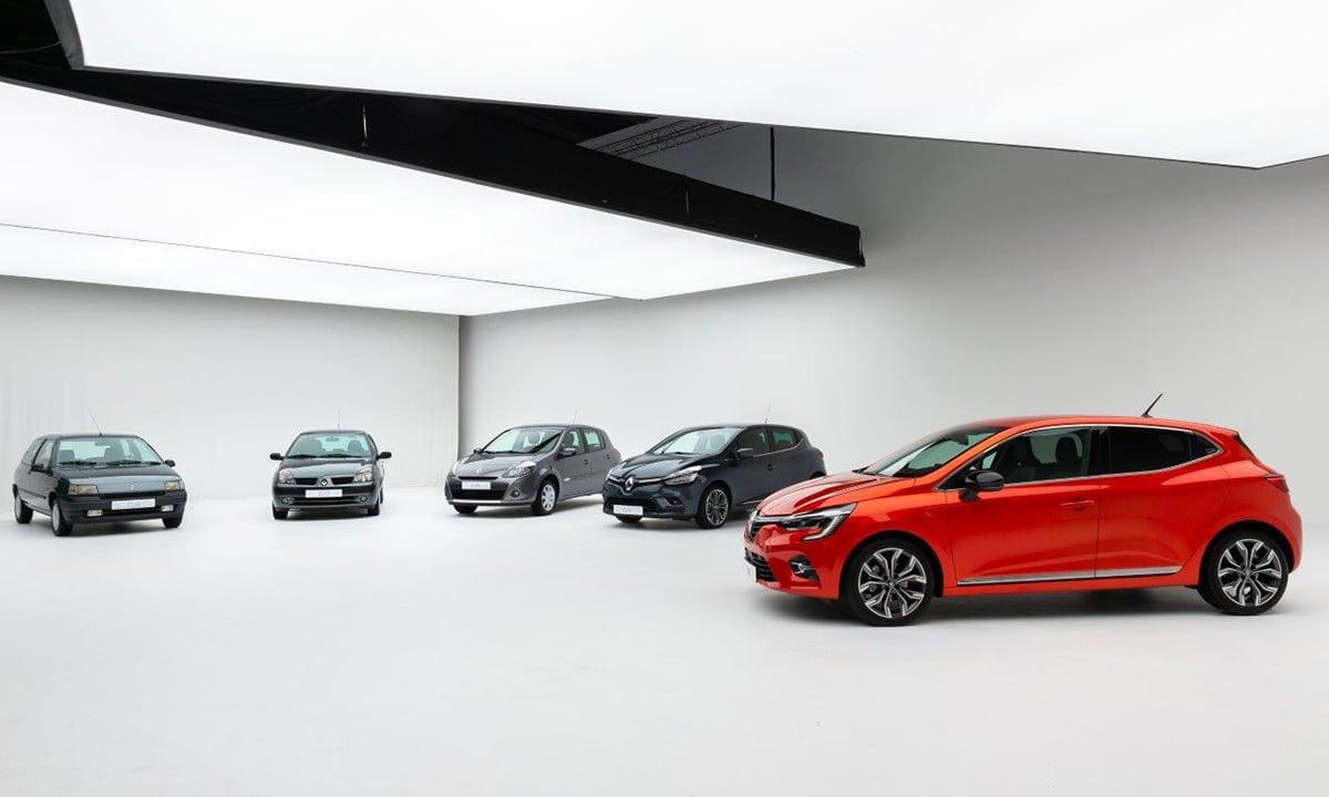 Renault Clio todas las generaciones