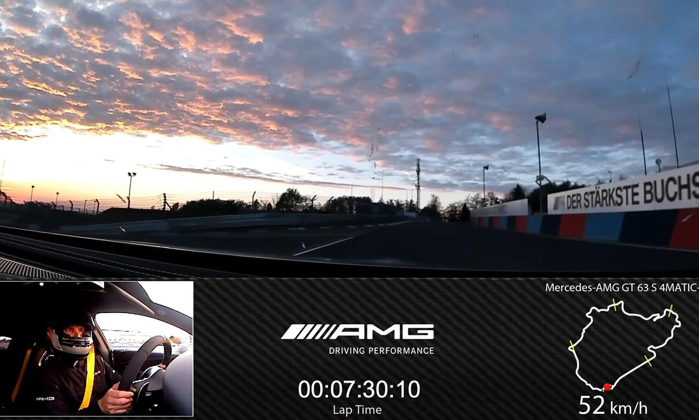 Mercedes-AMG GT 4 puertas en Nürburgring
