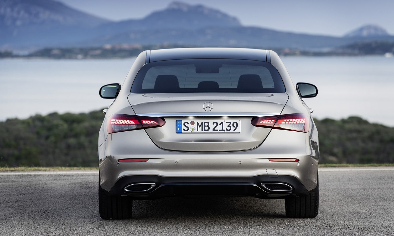 Trasera Mercedes Clase E