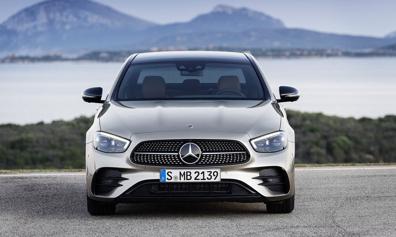 Frontal Mercedes Clase E