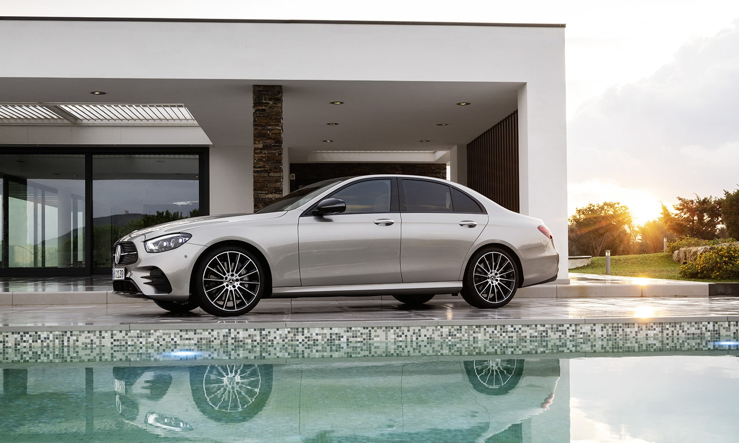 Lateral Mercedes Clase E