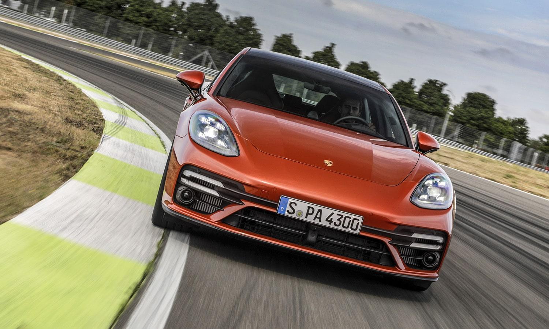 Porsche Panamera frontal