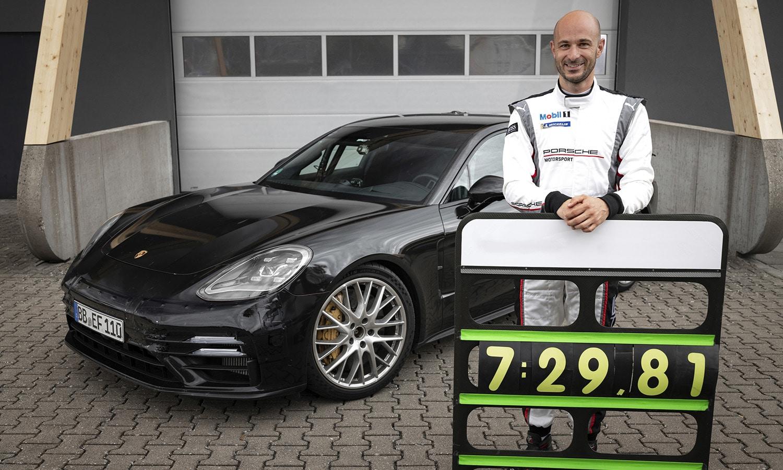 Porsche Panamera Turbo récord Nürburgring