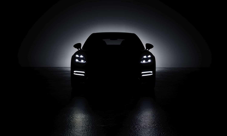 Porsche Panamera teaser