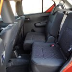 Plazas traseras ajustables Suzuki Ignis
