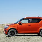 Prueba Suzuki Ignis GLX lateral