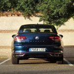 Parte trasera Volkswagen Passat 2020