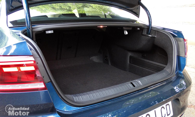 Maletero del Volkswagen Passat