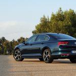Prueba Volkswagen Passat perfil trasero