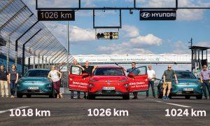 Hyundai Kona Eléctrico récord autonomía