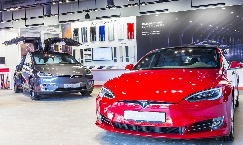 Tesla avería