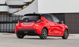Toyota Yaris Style Premiere Edition trasera