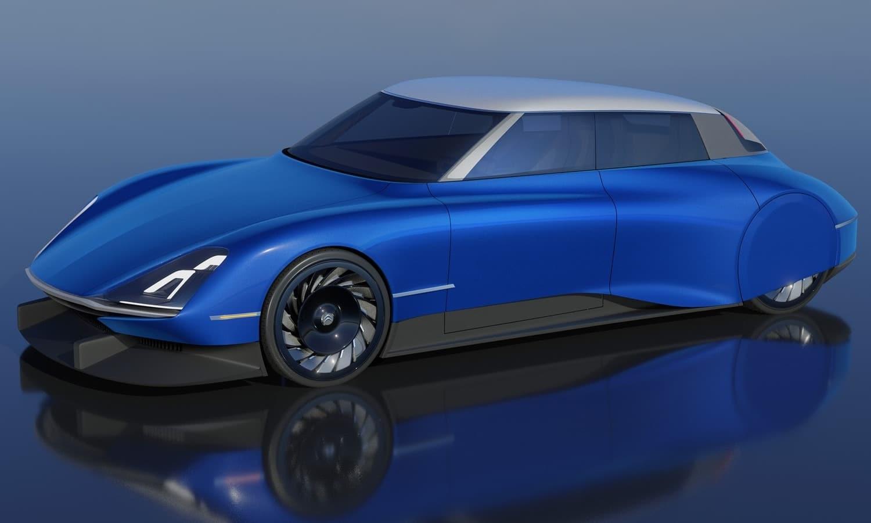 Citroën DS Pallace 2021 render