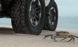 GMC Hummer EV SUV Crab Wheels