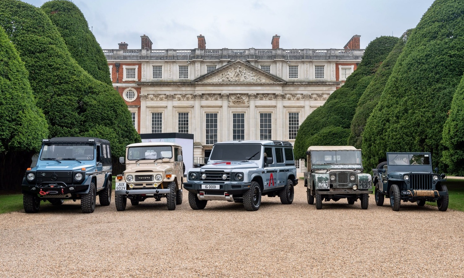 Ineos Grenadier Heritage Inspirations Concours of Elegance 2020 0